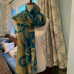 100% Pashima Scarf Soft Colorful Wrap Shawl